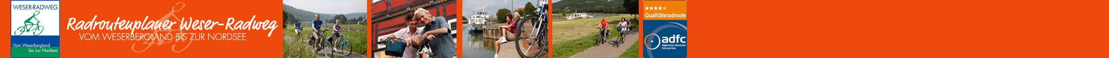 Herzlich willkommen auf dem Weser-Radweg!